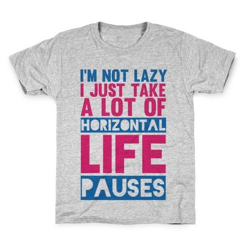 Not Lazy Kids T-Shirt