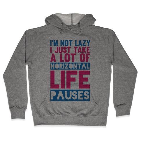 Not Lazy Hooded Sweatshirt