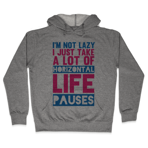 Not Lazy Hooded Sweatshirt