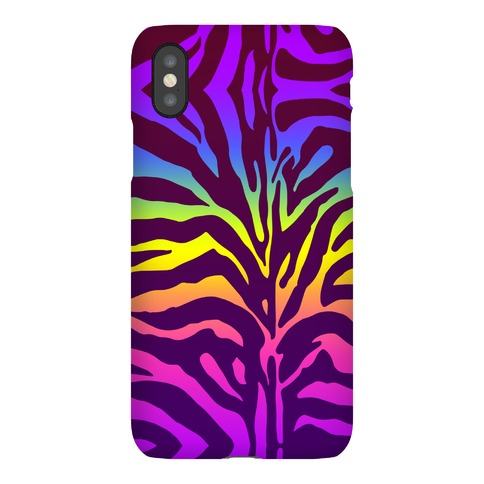 Rainbow Zebra Phone Case