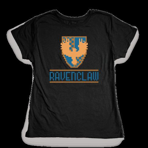 8 Bit Ravenclaw Womens T-Shirt