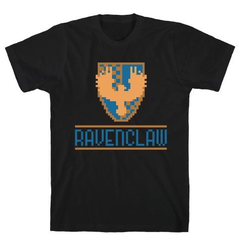 8 Bit Ravenclaw Mens T-Shirt