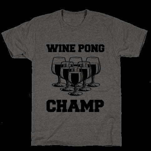 Wine Pong Champ