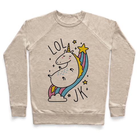 LOL JK Unicorn Pullover