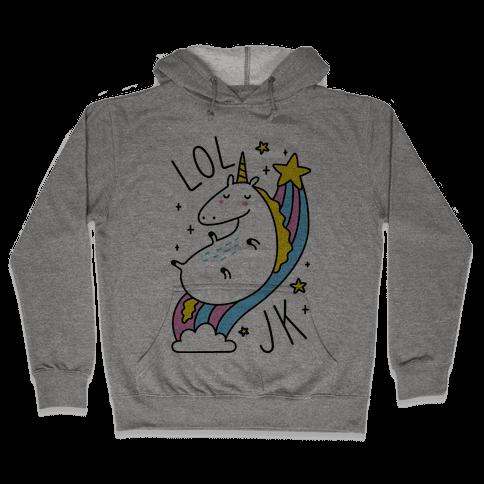 LOL JK Unicorn Hooded Sweatshirt