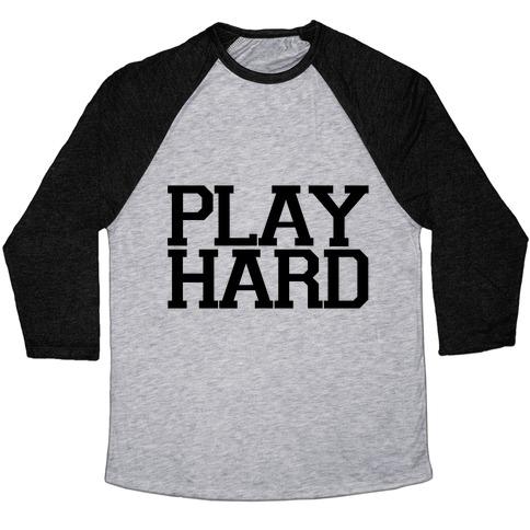 Play Hard Baseball Tee