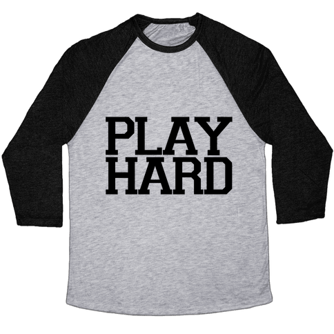 Play Hard Baseball Tee