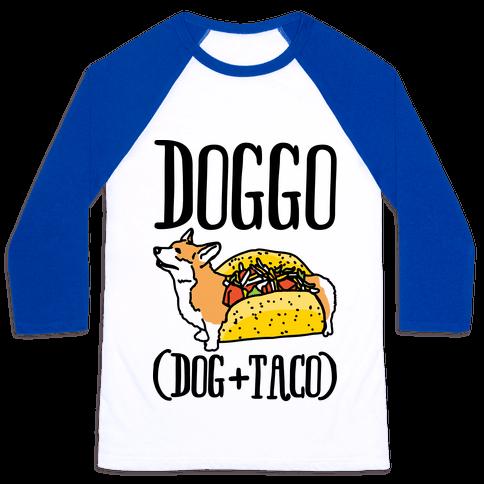 Doggo Baseball Tee