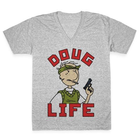 Doug Life V-Neck Tee Shirt