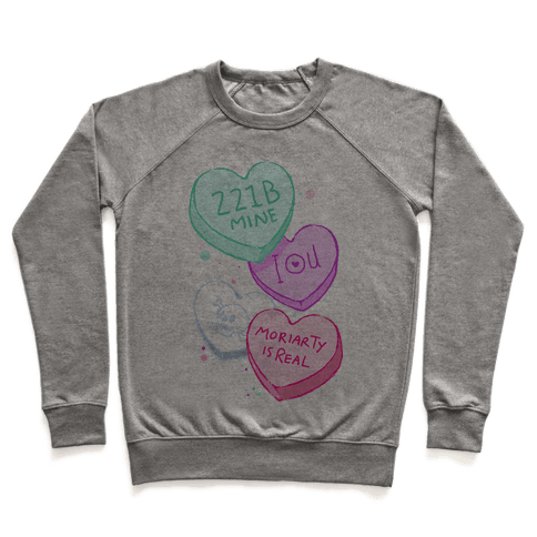 Sherlock Valentines Candy Hearts Pullover
