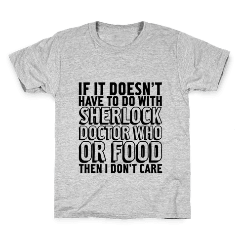 Then I Don't Care Kids T-Shirt