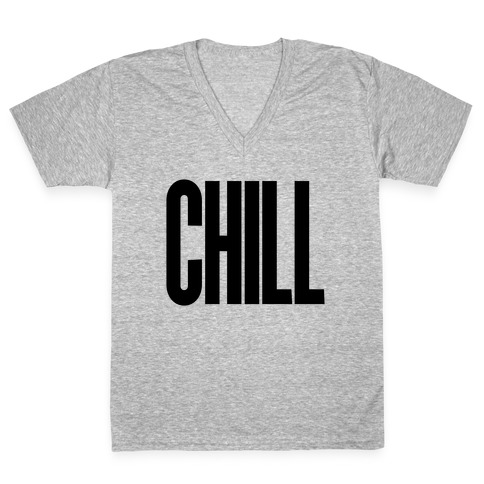 Chill V-Neck Tee Shirt