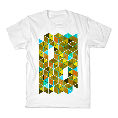 Colorful Tiles Kids T-Shirt
