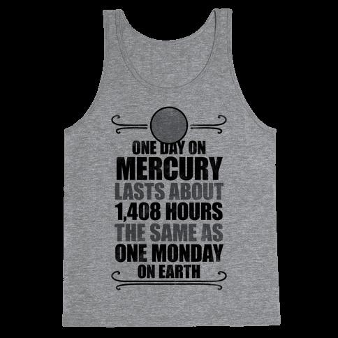 One Day On Mercury Tank Top
