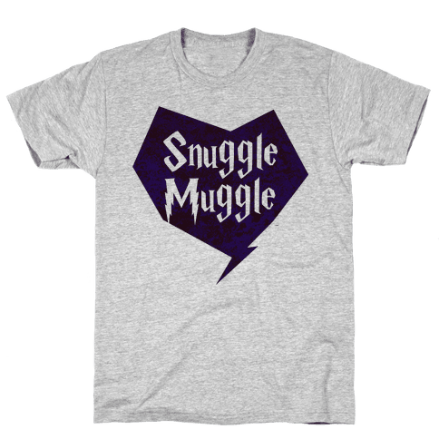 Snuggle Muggle  Mens T-Shirt