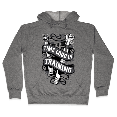 Time Lord In Training Hooded Sweatshirt