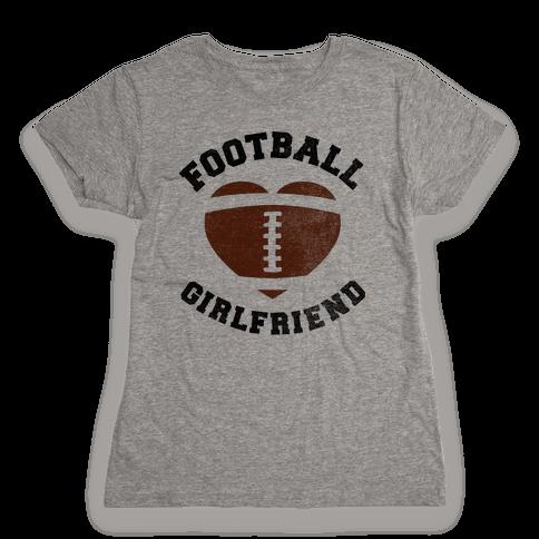 Football Girlfriend Womens T-Shirt