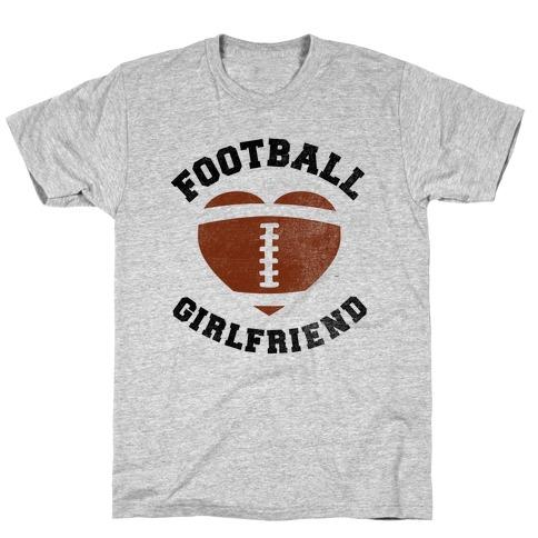 Football Girlfriend Mens/Unisex T-Shirt