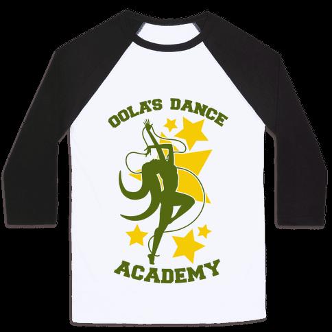 Oola's Dance Academy Baseball Tee