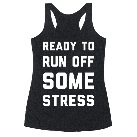 Ready To Run Racerback Tank Top
