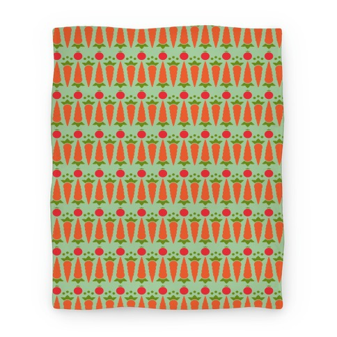 Veggie Pattern Blanket