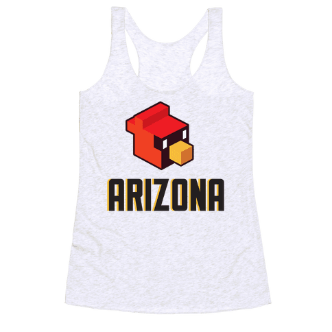 Arizona Blocks Racerback Tank Top