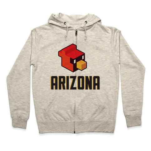 Arizona Blocks Zip Hoodie