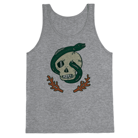Skull and Coral Crossbones Tank Top