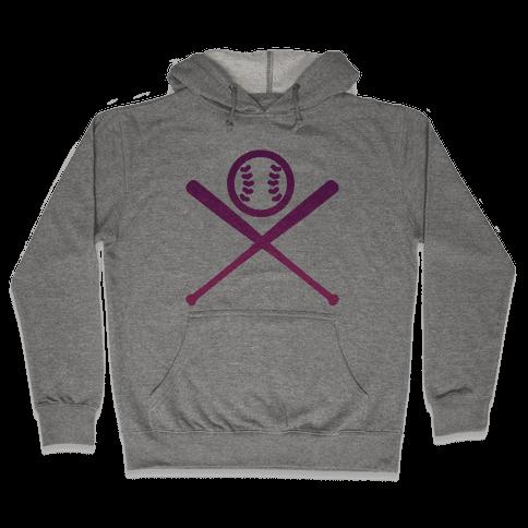 Baseball Hooded Sweatshirt