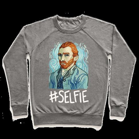 Van Gogh Selfie Pullover