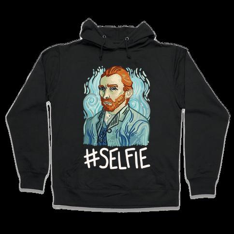 Van Gogh Selfie Hooded Sweatshirt