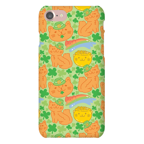 Magical Leprechaun Cats Phone Case