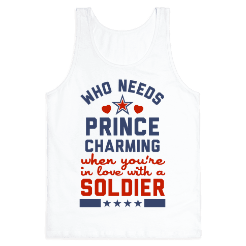 Who Needs Prince Charming? (Patriotic) Tank Top