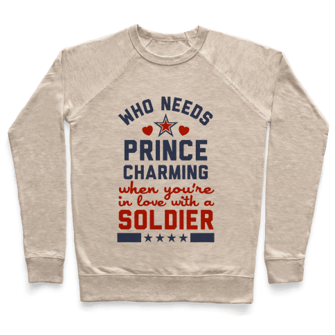 Who Needs Prince Charming? (Patriotic) Pullover