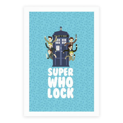 Superwholock Poster