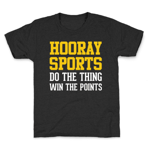 Hooray Sports Kids T-Shirt