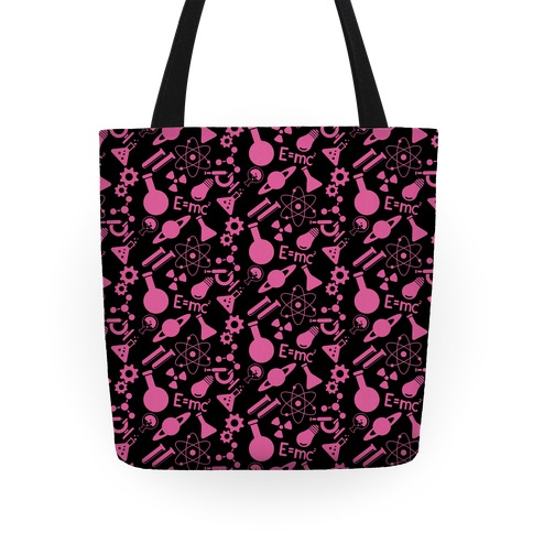 Science Pattern Tote