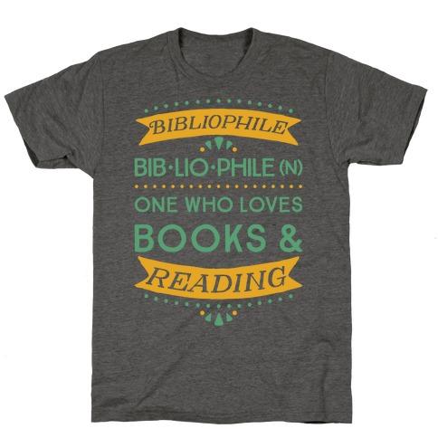Bibliophile Definition T-Shirt
