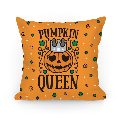Pumpkin Queen Pillow