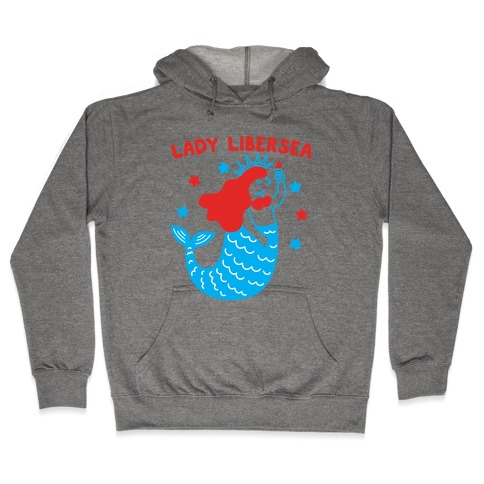 Lady Libersea Mermaid Hooded Sweatshirt