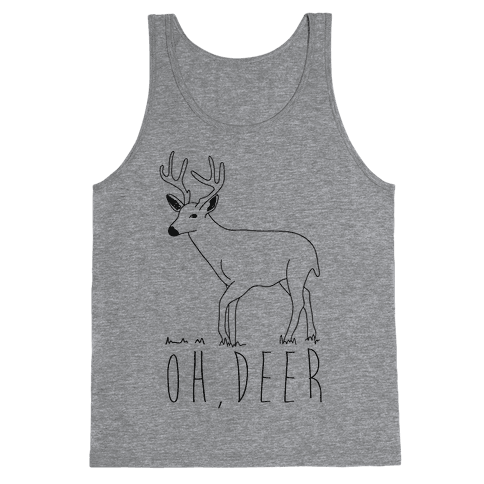 Oh Deer Tank Top
