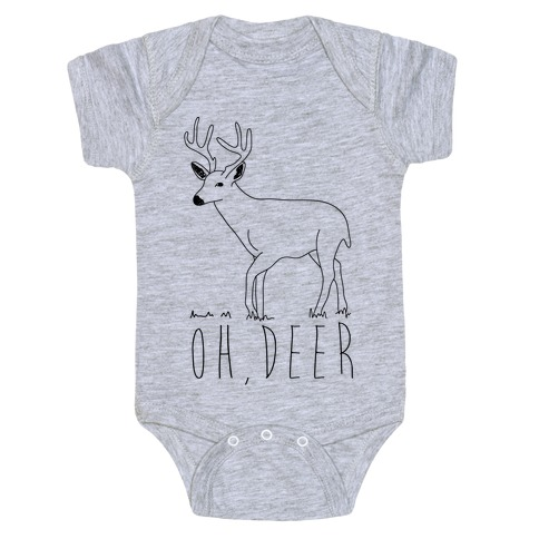 Oh Deer Baby Onesy