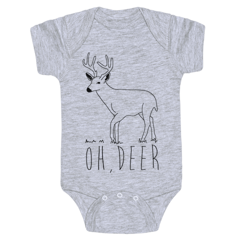 Oh Deer Baby Onesy