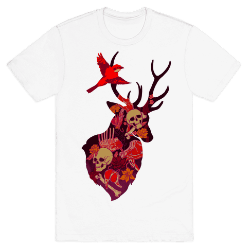 The Shrike & The Stag Mens T-Shirt