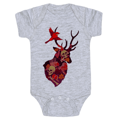The Shrike & The Stag Baby Onesy