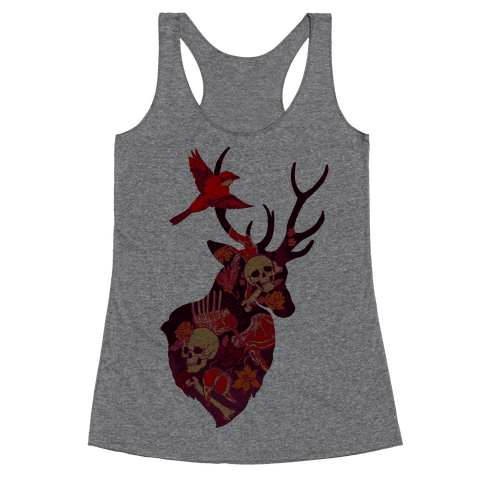 The Shrike & The Stag Racerback Tank Top