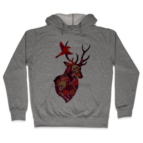 The Shrike & The Stag Hooded Sweatshirt