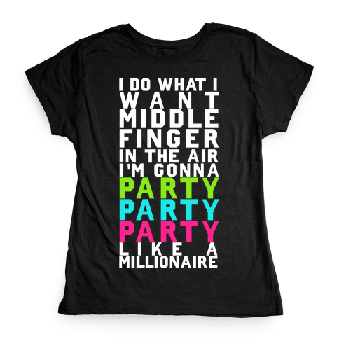 Party Party Party Womens T-Shirt