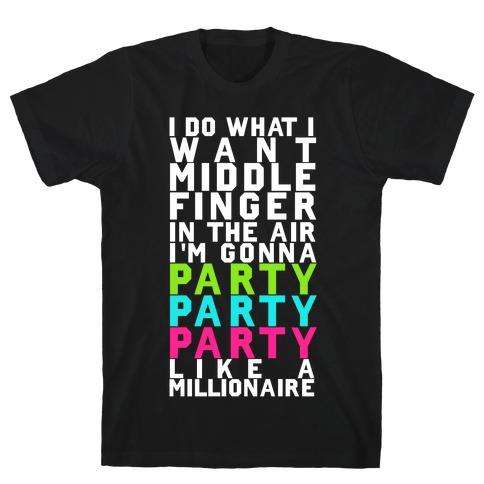 Party Party Party Mens/Unisex T-Shirt
