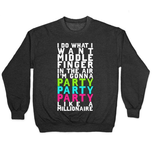 Party Party Party Pullover